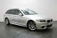 USED 2011 11 BMW 5 SERIES 3.0 530D M SPORT TOURING 5d AUTO 242 BHP MAIN DEALER SERVICE HISTORY