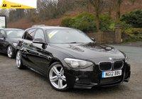 2012 BMW 1 SERIES 2.0 116D M SPORT 5d 114 BHP £SOLD