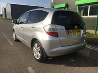USED 2009 59 HONDA JAZZ 1.3 I-VTEC EX 5 DOOR, TOP SPEC WITH FSH
