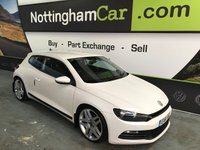 2011 VOLKSWAGEN SCIROCCO 2.0 TDI BLUEMOTION TECHNOLOGY 2d 140 BHP £5995.00