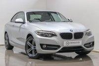 USED 2015 65 BMW 2 SERIES 2.0 218D SPORT 2d 148 BHP