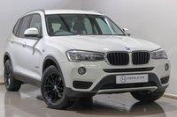 USED 2015 65 BMW X3 2.0 XDRIVE20D SE 5d AUTO 188 BHP