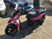 2017 SYM CROX 125cc CROX 125 E4 9 BHP £1395.00