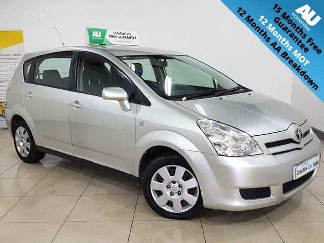 View our TOYOTA COROLLA VERSO