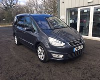 USED 2014 64 FORD GALAXY 2.0 TDCI TITANIUM AUTOMATIC 140 BHP THIS VEHICLE IS AT SITE 2 - TO VIEW CALL US ON 01903 323333