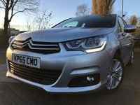 2015 CITROEN C4 1.6 BLUEHDI FLAIR 5d 98BHP NEW SHAPE £6990.00