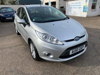 USED 2010 10 FORD FIESTA 1.4 ZETEC 16V 5d 78 BHP FULL SERVICE HISTORY WITH 9 STAMPS IN THE BOOK