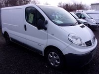 2011 RENAULT TRAFIC 2.0 SL27 DCI  115 BHP £5750.00
