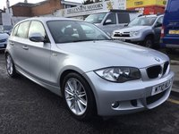 2010 BMW 1 SERIES 2.0 118I M SPORT 5d 141 BHP £6000.00