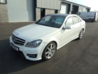 2011 MERCEDES-BENZ C CLASS 2.1 C220 CDI BLUEEFFICIENCY SPORT 4d AUTO 168 BHP £6491.00