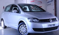 USED 2011 11 VOLKSWAGEN GOLF PLUS 1.6 S TDI 5d 103 BHP