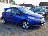 USED 2008 58 MAZDA 2 1.3 TS 5d 74 BHP PLEASE CALL IF YOU CANT SEE WHAT YOU ARE AFTER . WE WILL CHECK OUR OTHER BRANCHES FOR YOU . WE HAVE OVER 100 CARS IN GROUP STOCK