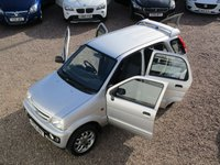 USED 2006 06 DAIHATSU TERIOS 1.3 SPORT 5d 85 BHP RARE SOUGHT AFTER 4X4, MOT TILL MARCH 2020, HPI CLEAR, 2 PREVIOUS OWNERS
