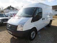 2013 FORD TRANSIT 2.2 TDCI 330 MWB MEDIUM ROOF L2H2 125 BHP 1 OWNER FULL MAIN DEALER SERVICE HISTORY ONLY COVERED 9,875 MILES £9995.00