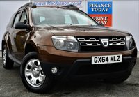 USED 2014 64 DACIA DUSTER 1.5 AMBIANCE DCI 5d 4x4 Family SUV Great Value for Money in a Stunning Colour ***ONE OWNER FROM NEW***