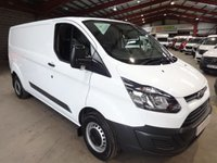 USED 2015 15 FORD TRANSIT CUSTOM 2.2 290 LR P/V 1d 99 BHP PANEL VAN