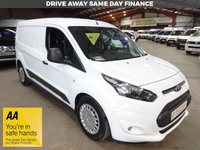 """USED 2014 14 FORD TRANSIT CONNECT 1.6 240 TREND P/V  94 BHP L2 LWB VAN """"YOU'RE IN SAFE HANDS"""" - AA DEALER PROMISE"""