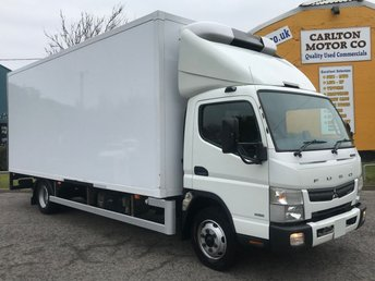 2015 MITSUBISHI FUSO CANTER 3.0 7C18 AUTO FRIDGE-FREEZER-CHILLER INSULATED BOX VAN+ STANDBY 7500kgs £18950.00