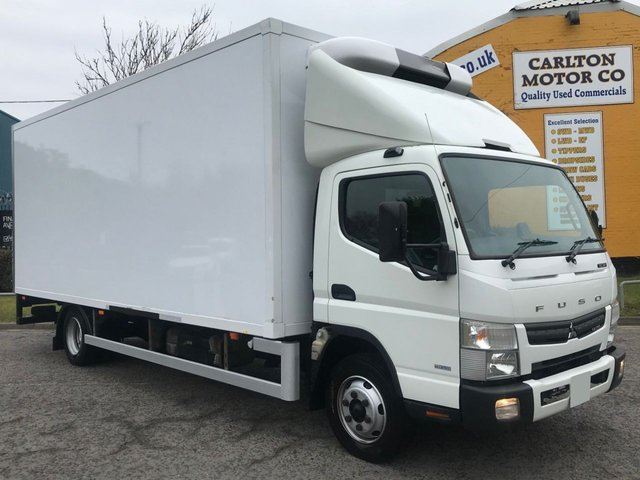 2015 65 MITSUBISHI FUSO CANTER 3.0 7C18 AUTO FRIDGE-FREEZER-CHILLER INSULATED BOX VAN+ STANDBY 7500kgs