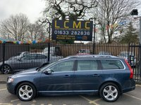 USED 2008 57 VOLVO V70 2.4 D5 SE LUX 5d AUTO 183 BHP METALLIC BLUE PAINT WORK, BEIGE LEATHER, MEMORY DRIVERS SEATS, HEATED SEATS, CRUISE CONTROL, AIRCON, CD STEREO, ALLOYS, PARKING SENSORS, FULL SERVICE HISTORY LAST @ 13/12/18 , 13725 MILES PLEASE CHECK OUR WEBSITE OVER 120 CARS AVAILABLE AT WWW.LOWCOSTMOTORCOMPANY.CO.UK