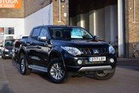 2017 MITSUBISHI L200 2.4 DI-D 4WD WARRIOR DCB 1d 178 BHP £15749.00