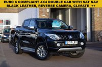 USED 2017 17 MITSUBISHI L200 2.4 DI-D 4WD WARRIOR DCB 1d 178 BHP Amazing value for money, £15999 + VAT buys you June 2017 Mitsubishi L200 2.4di-d 178 WARRIOR 4X4 DOUBLE CAB with only 28000 miles.