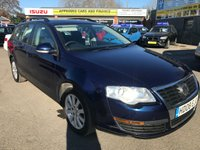 USED 2008 08 VOLKSWAGEN PASSAT 1.9 TDI S 5 DOOR 103 BHP ESTATE IN METALLIC BLUE (trade clearance) APPROVED CARS ARE PLEASED TO OFFER THIS  VOLKSWAGEN PASSAT 1.9 TDI S 5 DOOR 103 BHP ESTATE IN METALLIC BLUE WITH A GOOD SPEC AND AN MOT UNTIL 18/04/19.THE CAR DRIVES VERY WELL AND IS IN GOOD ALL ROUND CONDITION OTHER THAN AGE RELATED MARKS WITH A FULL SERVICE HISTORY WITH 9 SERVICE STAMPS BUT DUE TO ITS MILEAGE IS BEING OFFERED AS AB TRADE CLEARANCE CAR.