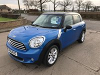 2010 MINI COUNTRYMAN 1.6 COOPER D 5d 112 BHP £6995.00