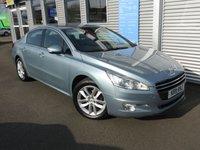 2011 PEUGEOT 508 1.6 ACTIVE E-HDI 4d AUTO 112 BHP £5250.00