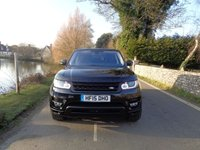 USED 2015 15 LAND ROVER RANGE ROVER SPORT 3.0 SDV6 HSE DYNAMIC 5d AUTO 288 BHP