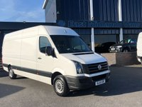 2016 VOLKSWAGEN CRAFTER CR35 TDI 2.0 CR35 TDI H/R P/V 1d 135 BHP 2016 (16) Plate £12450.00