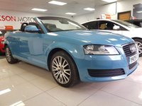 USED 2009 09 AUDI A3 2.0 TDI 2dr+9 MAIN DEALERS SERVICE STAMPS+