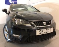 USED 2013 13 SEAT IBIZA 1.2 TSI FR 3d 104 BHP SORRY NOW SOLD Only 16,578 miles -1 family owner from new with Sat Nav, Cruise and Air conditioning-Full Service History this car is such a lovely LOW mileage example in gleaming black -great value ring for further details on 0191 2581948