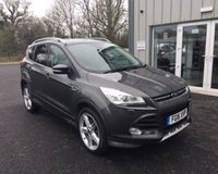 USED 2016 16 FORD KUGA 2.0 TDCI TITANIUM X SPORT 150 BHP THIS VEHICLE IS AT SITE 2 - TO VIEW CALL US ON 01903 323333