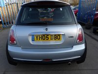 USED 2005 05 MINI HATCH ONE 1.6 ONE 3d 89 BHP NEW MOT, SERVICE & WARRANTY