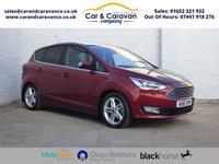 USED 2016 16 FORD C-MAX 1.5 TITANIUM X TDCI 5d 118 BHP One Owner Full Service History Buy Now, Pay Later Finance!