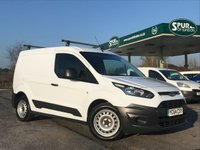USED 2014 64 FORD TRANSIT CONNECT 1.6 200 P/V 1d 74 BHP Only 21,000 Miles, Roof Bars, Finance In 60 Seconds.