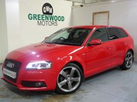 USED 2011 11 AUDI A3 2.0 TDI Black Edition Sportback 5dr