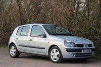 2002 RENAULT CLIO 1.4 PRIVILEGE 16V £1425.00