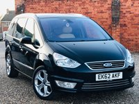USED 2012 62 FORD GALAXY 2.0 TITANIUM X TDCI AUTO PANORAMIC ROOF LEATHER NAVIGATION