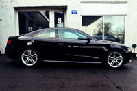 USED 2014 64 AUDI A5 2.0 TDI ULTRA SE 2d 161 BHP LEATHER WITH HEATED SEATS+ S LINE UPGRADES