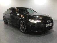 USED 2014 64 AUDI A6 3.0 TDI QUATTRO S LINE BLACK EDITION 4d AUTO 313 BHP EXCELLENT FULL UPTO DATE S/HISTORY