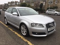 USED 2010 10 AUDI A3 1.4 TFSI SPORT 5d 123 BHP OUR  PRICE INCLUDES A 6 MONTH AA WARRANTY DEALER CARE EXTENDED GUARANTEE, 1 YEARS MOT AND A OIL & FILTERS SERVICE. 6 MONTHS FREE BREAKDOWN COVER.    CALL US NOW FOR MORE INFORMATION OR TO BOOK A TEST DRIVE ON 01315387070 !!
