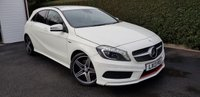 2013 MERCEDES-BENZ A CLASS 2.0 A250 BLUEEFFICIENCY ENGINEERED BY AMG 5d AUTO 211 BHP £15495.00