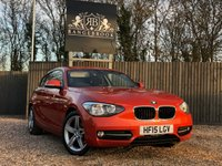 2015 BMW 1 SERIES 2.0 116D SPORT 3dr  £10499.00