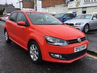 USED 2014 63 VOLKSWAGEN POLO 1.2 MATCH EDITION 5d 59 BHP OUR  PRICE INCLUDES A 6 MONTH AA WARRANTY DEALER CARE EXTENDED GUARANTEE, 1 YEARS MOT AND A OIL & FILTERS SERVICE. 6 MONTHS FREE BREAKDOWN COVER.   CALL US NOW FOR MORE INFORMATION OR TO BOOK A TEST DRIVE ON 01315387070 !!