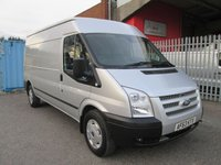 2013 FORD TRANSIT 350 LWB Medium roof TREND 125 PS *AIR CON + ONLY 39k* £9995.00