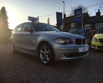 2010 BMW 1 SERIES 2.0 118D SPORT 5d 141 BHP £6995.00
