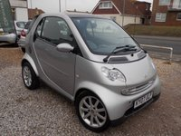 2007 SMART FORTWO 0.7 PASSION SOFTOUCH 2d AUTO 61 BHP £2325.00
