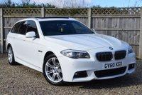 2011 BMW 5 SERIES 2.0 520D M SPORT TOURING 5d 181 BHP £SOLD